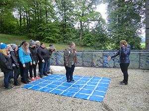 Klasse F2 der KWA Fachakademie für Sozialpädagogik des KWA Bildungszentrums in Pfarrkirchen