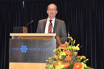 Karl-Heinz Ehrmann, Bürgermeister der Stadt Aalen