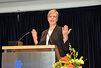 KWA Stiftsdirektorin Andrea Wurm