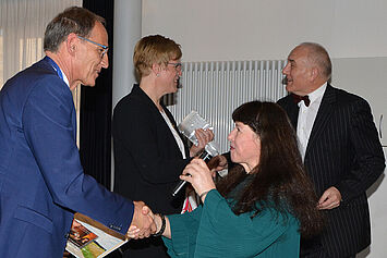 Das Duo >con emozione< gratuliert Manfred Zwick und Andrea Wurm.