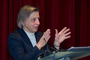 Ministerialdirigentin Ruth Nowak beim KWA Symposium 2020