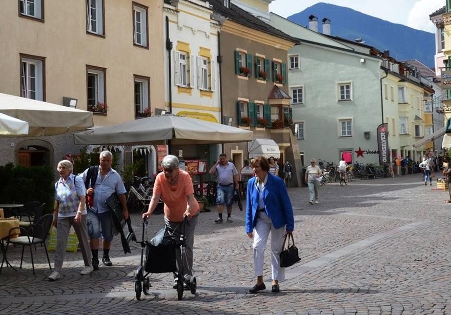 Spaziergang durch Brixen