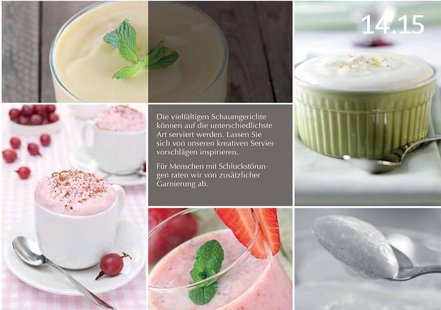 Beispielseite aus dem KWA Rezeptbuch Sanfte Küche