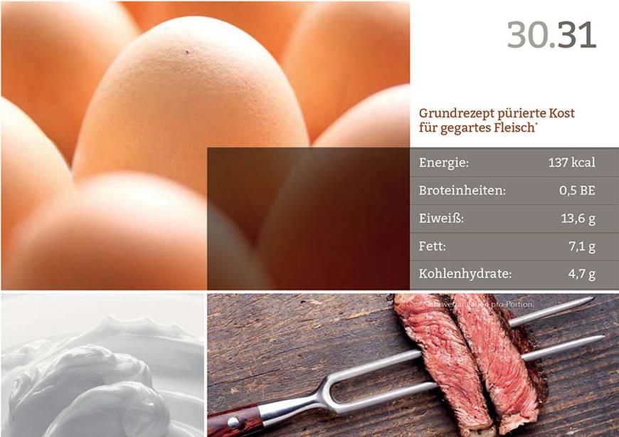 Weitere Beispielseite aus dem KWA Rezeptbuch Sanfte Küche