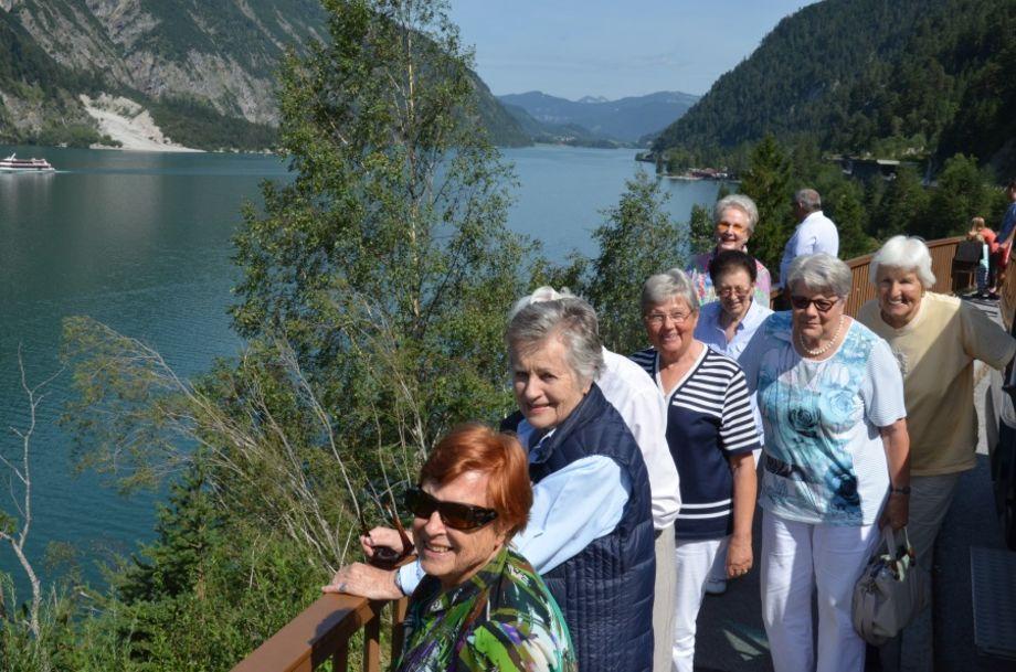Erster Fotostopp am Achensee