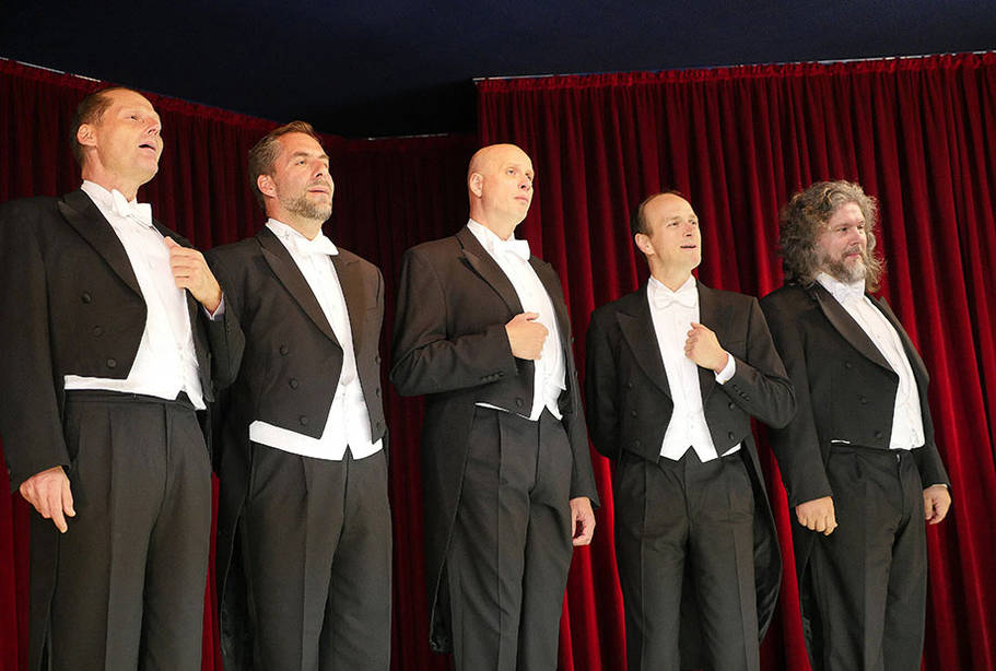 Comedian Harmonists Today bei KWA