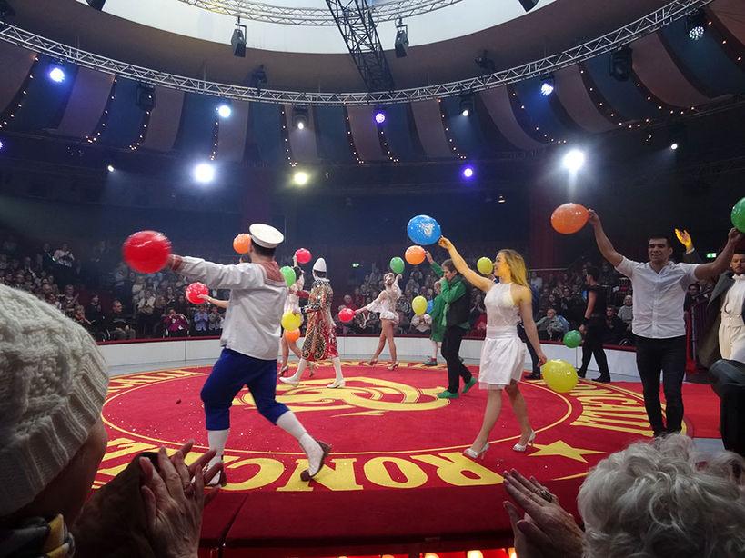 Zirkusfest zum 60. Geburtstag von Michael Käfer