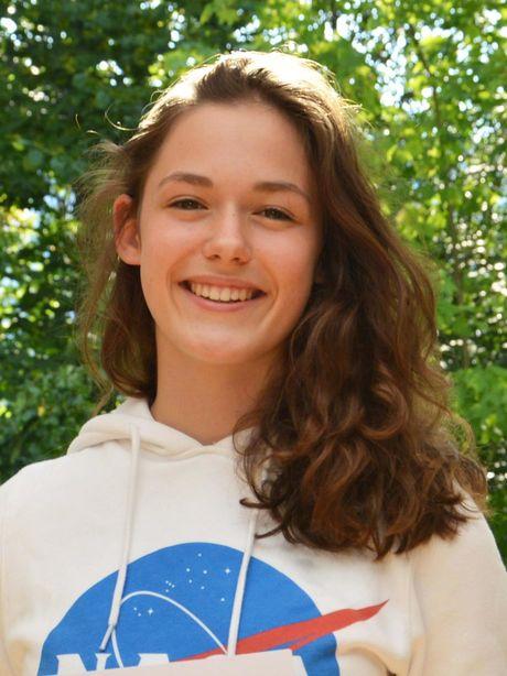Helene Klövekorn, Zweitplatzierte des KWA Schülerliteraturwettbewerbs Baden-Baden 2018