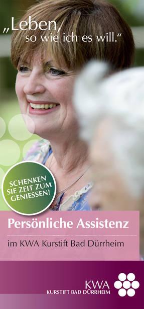 Persönliche Assistenz im KWA Kurstift Bad Dürrheim