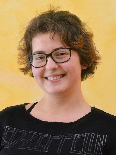 Sophia Lachmann, Siegerin des KWA Schülerliteraturwettbewerbs München 2018