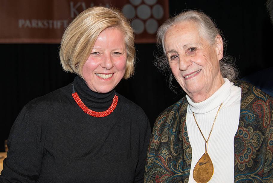 Gast mit Angela Rosengart