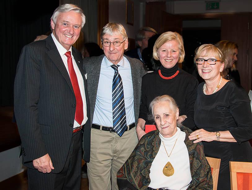 Gäste beim Talk in der Rosenau mit Angela Rosengart