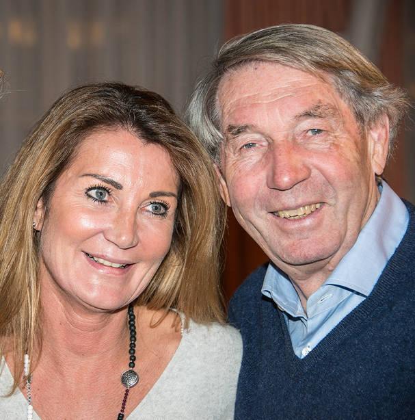 Roland Doschka mit Gast beim Talk in der Rosenau mit Angela Rosengart