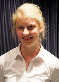 Julia Mildner, Preisträgerin des KWA Schülerliteraturwettbewerbs Aalen 2015