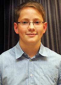 Robert Mokry, Preisträger des KWA Schülerliteraturwettbewerbs Aalen 2015