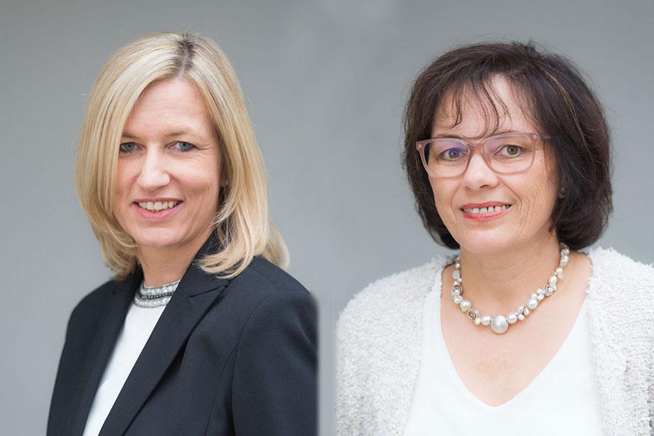 Gabriele Hannemann und Birgit Northoff