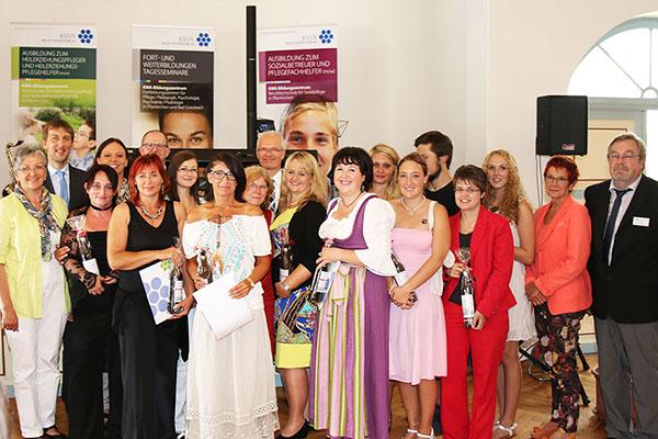 Abschlussfeier 2014 im KWA Bildungszentrum in Pfarrkirchen
