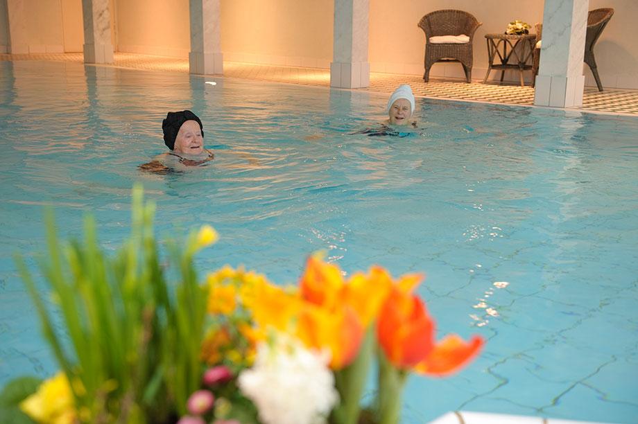 Schwimmbad im Caroline Oetker Stift