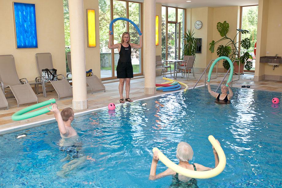 Schwimmbad im KWA Georg-Brauchle-Haus in München