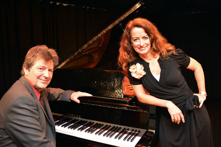 Julia von Miller und Manfred Manhart