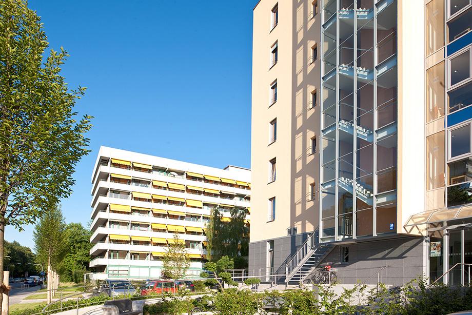 KWA Georg-Brauchle-Haus in Muenchen, Strassenansicht