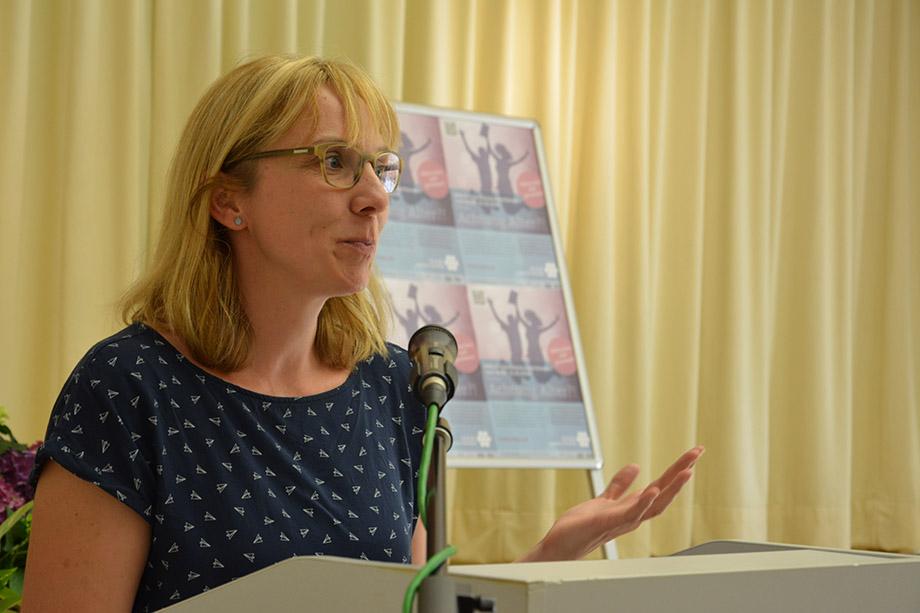 Jurorin Ilka Hamer - Diplom-Biblothekarin
