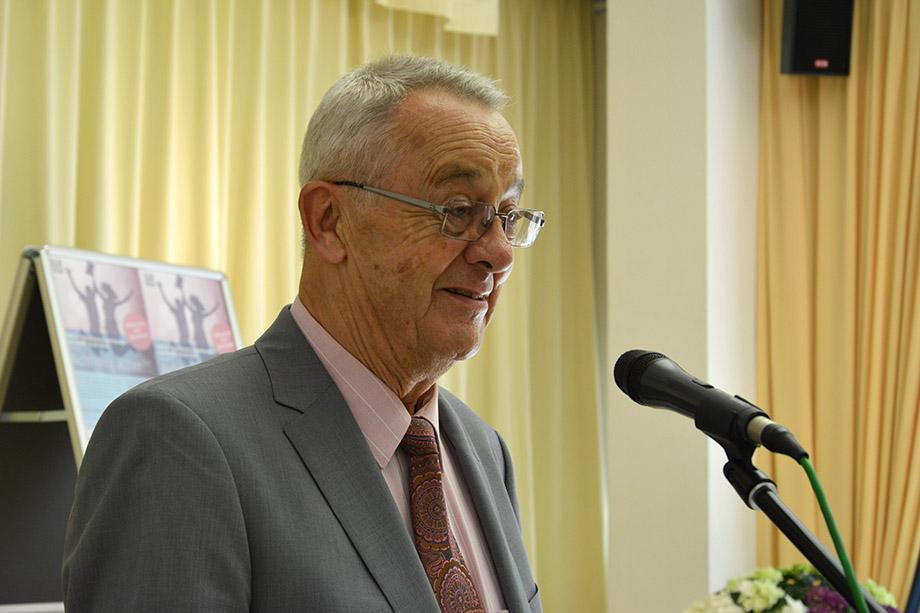 Juror Eberhard Graeger - ein Bewohner im KWA Parkstift Hahnhof