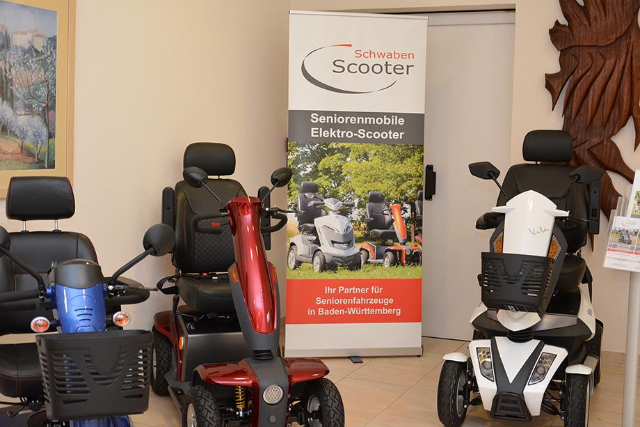 Elektro-Scooter von der Firma Schwaben Scooter: für geräuschlose Mobilität