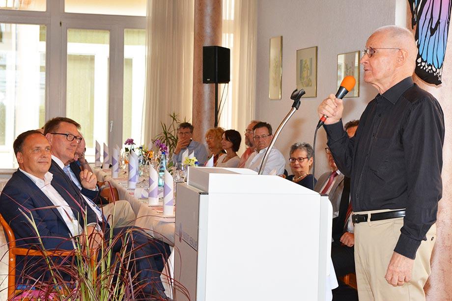 Der Stiftsbeiratsvorsitzende Prof. Dr. Joachim Ehlers