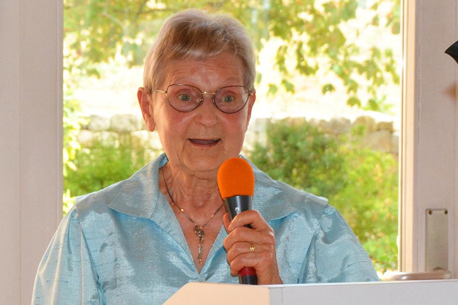 Die Pflegebeiratsvorsitzende Christa Eckert