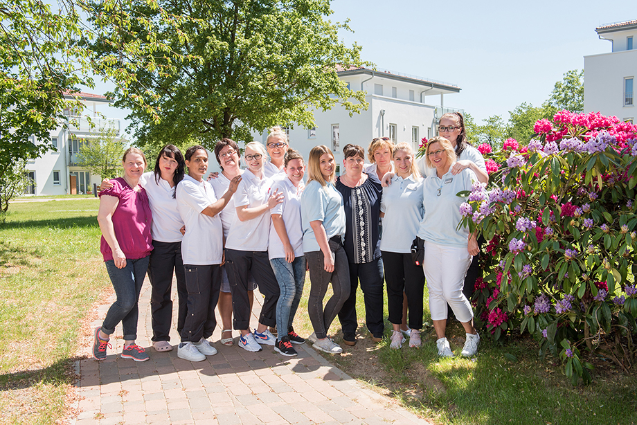 Pflegeteam im KWA Parkstift Aeskulap in Bad Nauheim