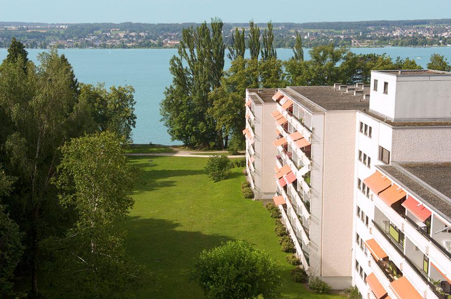 KWA Parkstift Rosenau in Konstanz, aus der Vogelperspektive