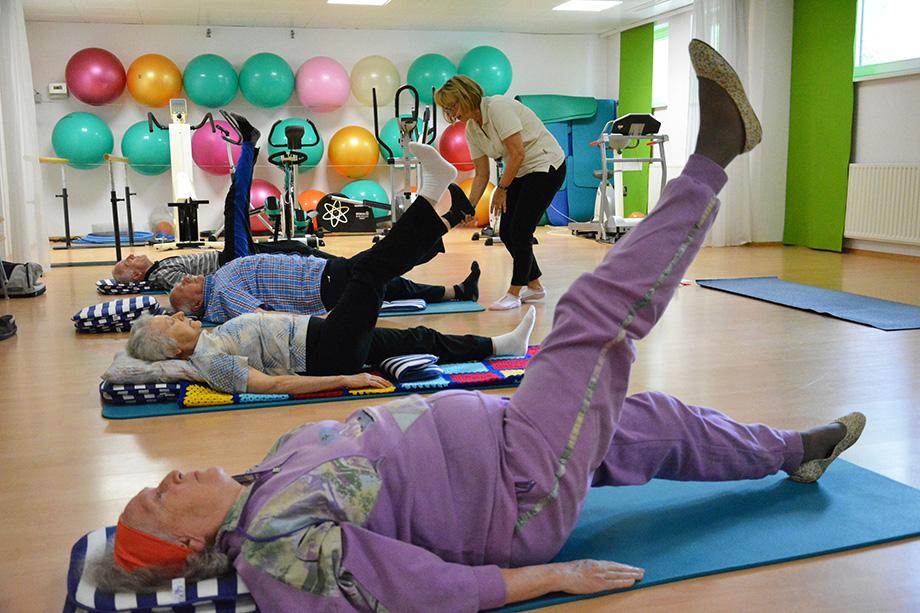KWA Parkstift Rosenau in Konstanz: Yoga mit Marina Gernard