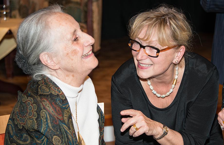 Angela Rosengart und Marina Gernard