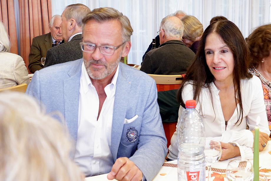 Talk in der Rosenau mit Erwin Teufel im Oktober 2017