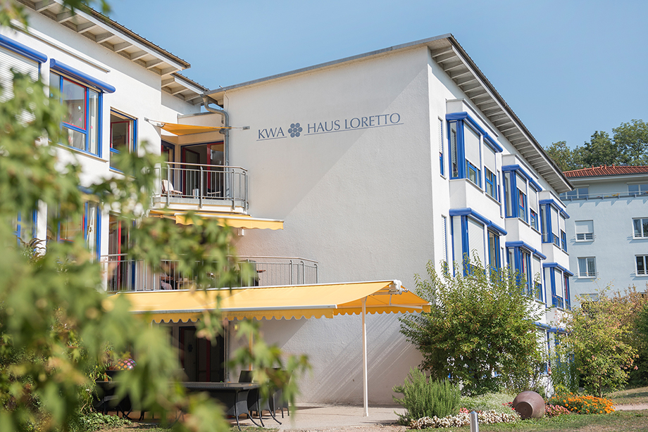 Pflegestift im KWA Parkstift Rosenau in Konstanz