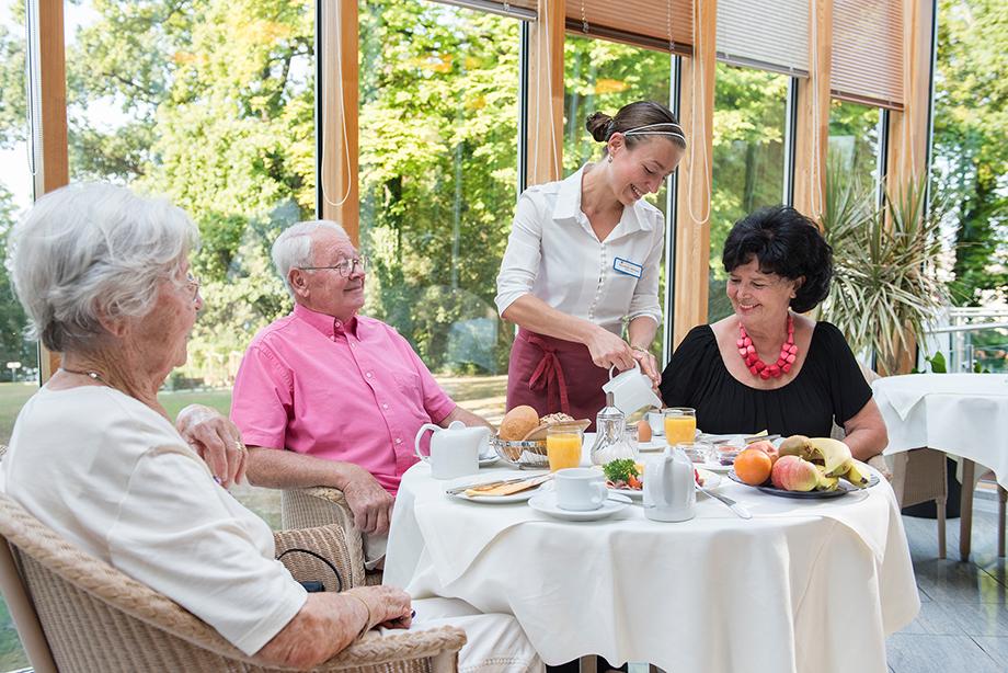 Frühstück im KWA Parkstift Rosenau in Konstanz
