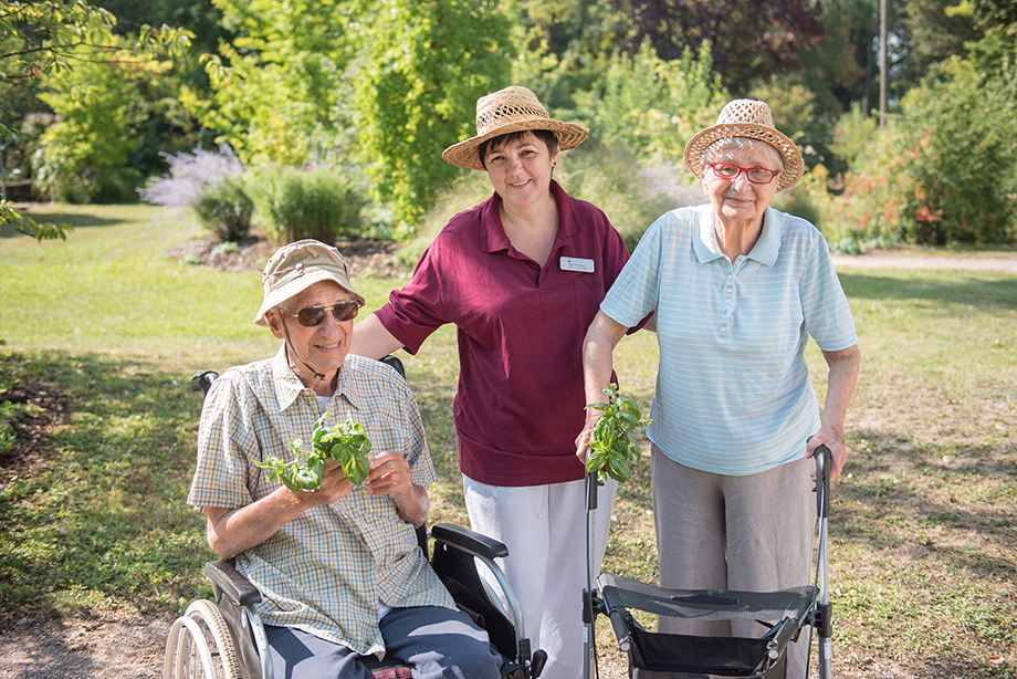 Begleitung und Pflege im KWA Parkstift Rosenau