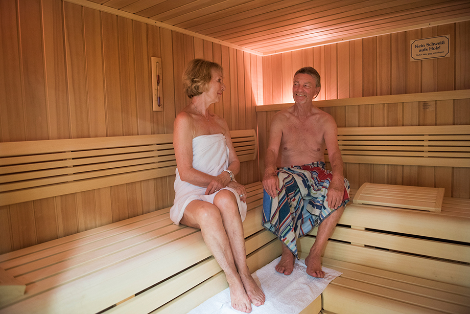 Sauna im KWA Parkstift Rosenau in Konstanz