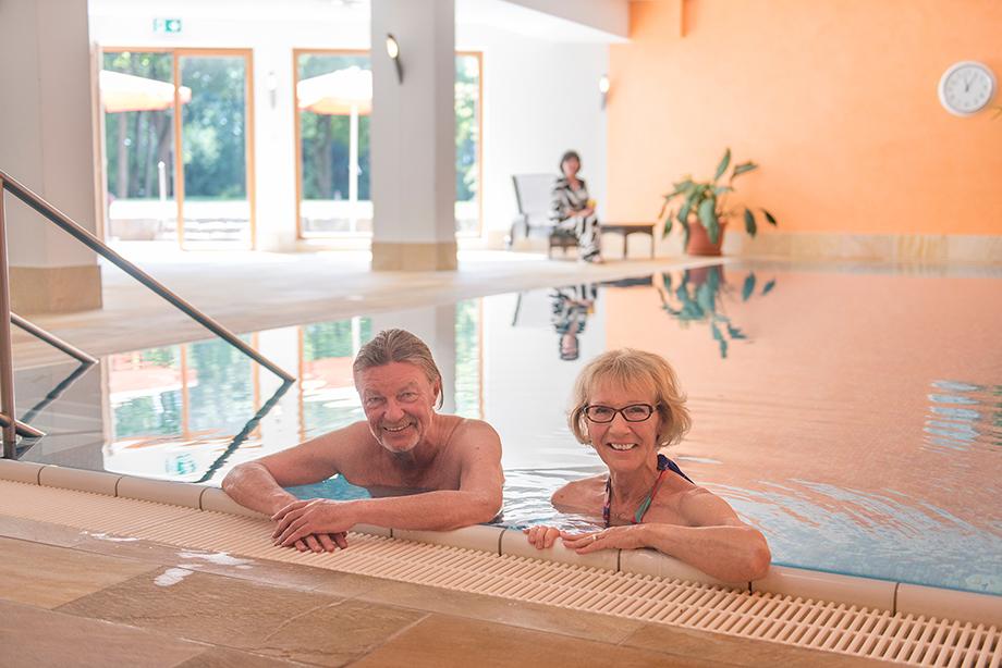 Schwimmbad im KWA Parkstift Rosenau in Konstanz