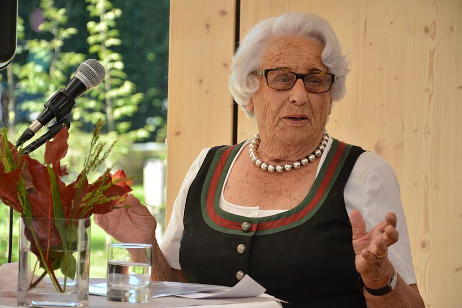 Edigna von Godin, Stiftsbeiratsvorsitzende im KWA Stift Brunneck