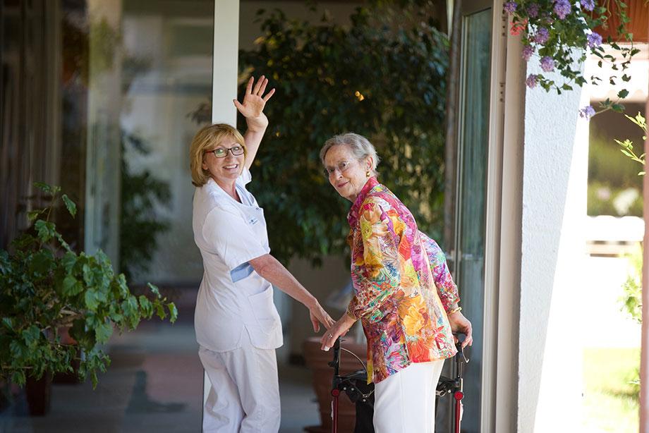 Kurzzeit- und Verhinderungspflege bei KWA