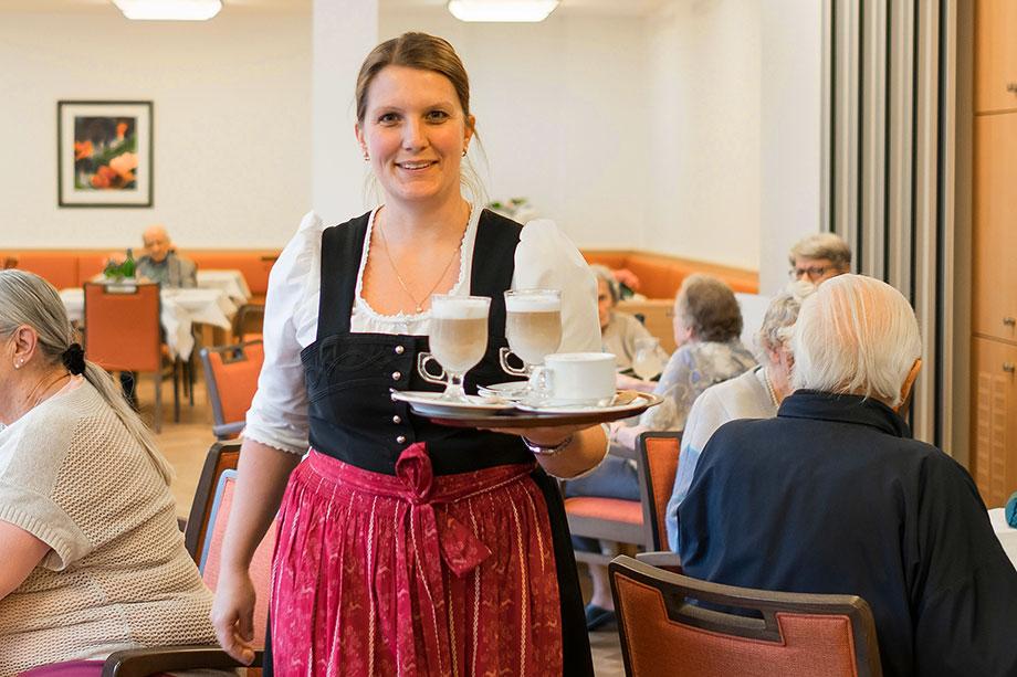 Service im KWA Stift Rupertihof