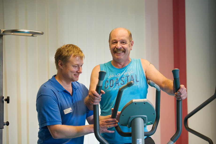 KWA Klinik Stift Rottal in Bad Griesbach, Physiotherapie