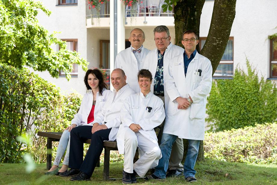 KWA Klinik Stift Rottal in Bad Griesbach, Ärzteteam