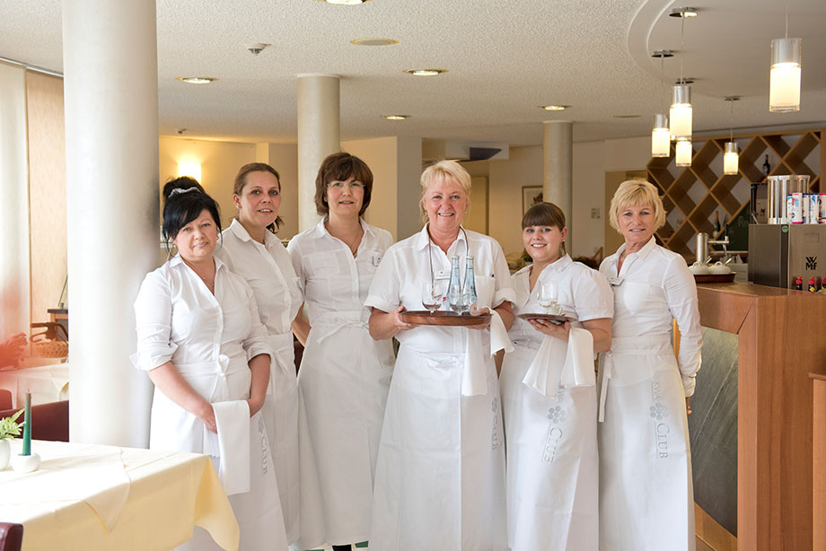 Serviceteam im KWA Stift Urbana im Stadtgarten in Bottrop