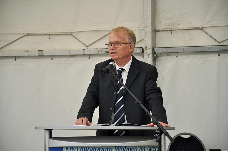 Dr. Peter Speckamp, Vorsitzender des Stiftsbeirats