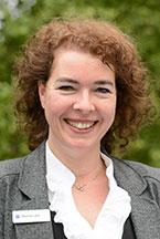 Martina Lenz, Kundenbetreuerin im KWA Stift Urbana im Stadtgarten