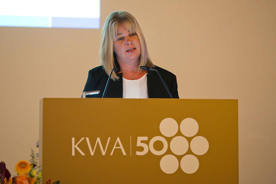 Peggy Schade, KWA Gesamtbetriebsratsvorsitzende