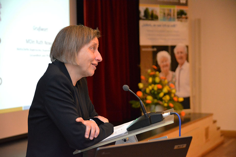 Ministerialdirektorin Ruth Nowak